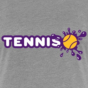 Tennis and Splash Tee shirts - T-shirt Premium Femme