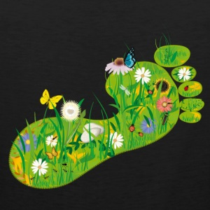ecological Footprint Tank Tops - Men's Premium Tank Top