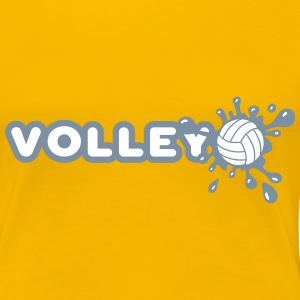 Volley and Splash Tee shirts - T-shirt Premium Femme