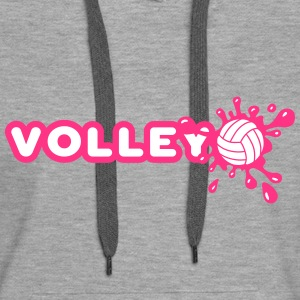 Volley and Splash Sweat-shirts - Sweat-shirt à capuche Premium pour femmes