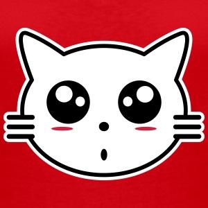Tee shirts manga spreadshirt - Femme chat manga ...