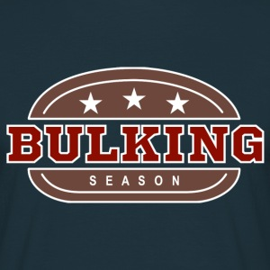Bulking Season - Burger - Männer T-Shirt