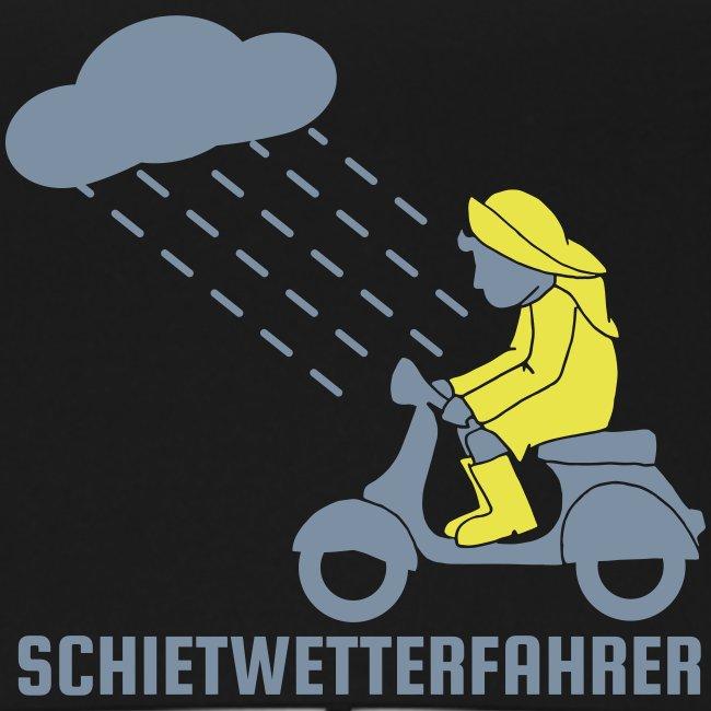 Schietwetterfahrer Regenschirm