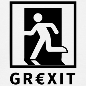 Grexit T-shirts - Herre-T-shirt