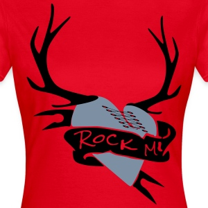 rock mi herz T-Shirts - Frauen T-Shirt