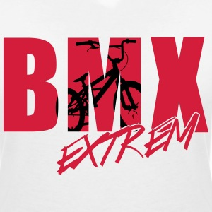 bmx 2_2c T-Shirts - Women's V-Neck T-Shirt