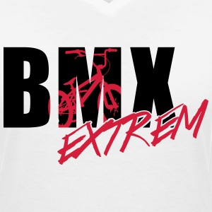 bmx 3_2c T-Shirts - Women's V-Neck T-Shirt