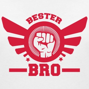 bro T-Shirts - Women's V-Neck T-Shirt
