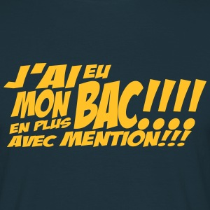 mon bac avec mention Tee shirts - T-shirt Homme