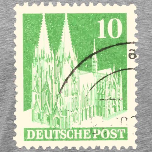 Kölner Dom Briefmarke 10er Grün 1948