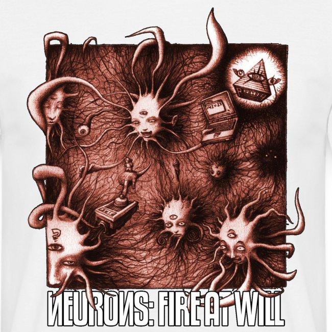 paniq shirt - Neurons: Fire At Will