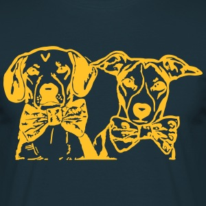 chien et chien by Customstyle Tee shirts - T-shirt Homme