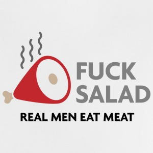 Fucking salad. Real men eat meat! Shirts - Baby T-Shirt