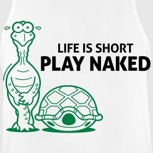 Life is short. Play Naked! Sports wear - Men's Breathable Tank Top