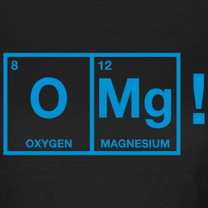 OMG periodic system T-shirts - Dame-T-shirt
