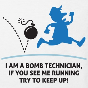 When a bomb squads running, follow him! Shirts - Kids' Organic T-shirt