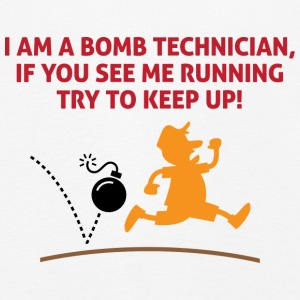 When a bomb squads running, follow him! Long Sleeve Shirts - Kids' Premium Longsleeve Shirt