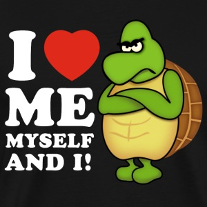 i love me myself and i (negativ) - Männer Premium T-Shirt