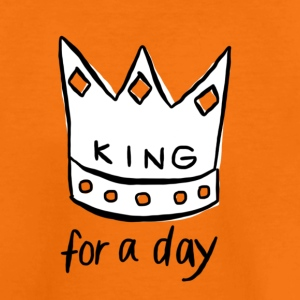 KING for a day - Kinderen Premium T-shirt