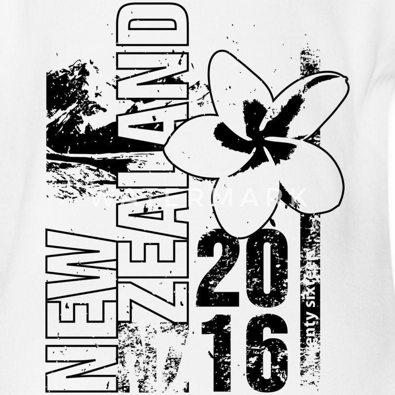 New Zealand 2016 Tee shirts - Body bébé bio manches courtes