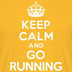 Keep calm and go running Tee shirts - T-shirt Homme