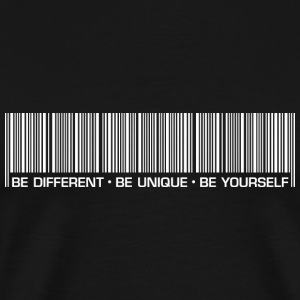 Männer T-Shirt Be different be unique be yourself - Männer Premium T-Shirt