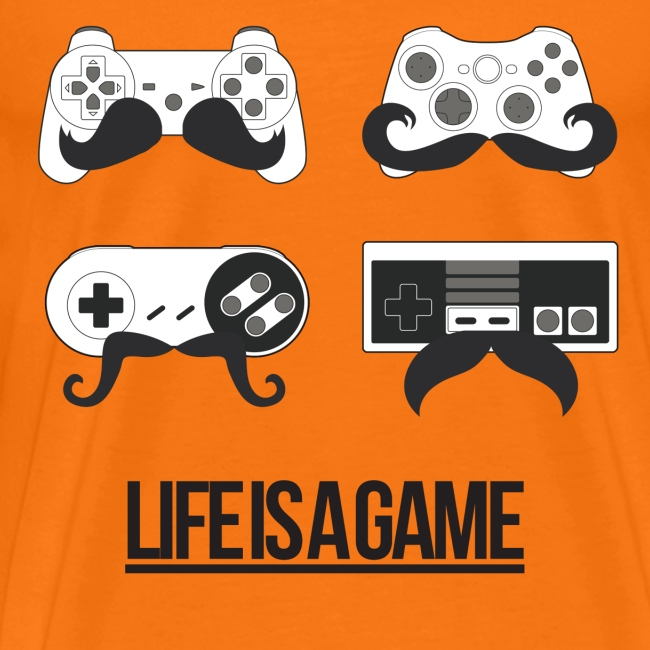 Mens Life Is A Game T-Shirt