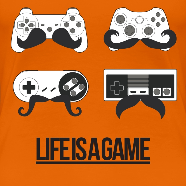 Womens Life Is A Game T-Shirt