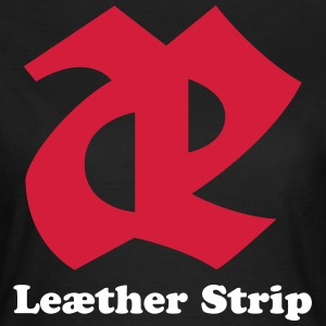 Leaether Strip - Logo 2 : Girlie Shirt - Frauen T-Shirt