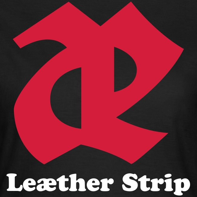 Leaether Strip - Logo 2 : Girlie Shirt