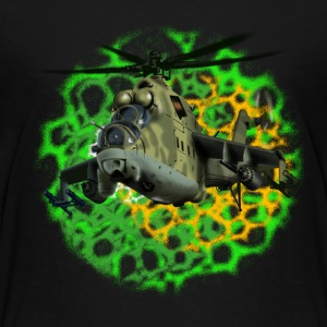 Mi-24 Shirts - Teenage Premium T-Shirt
