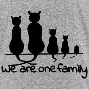 We are one family T-Shirts - Teenager Premium T-Shirt