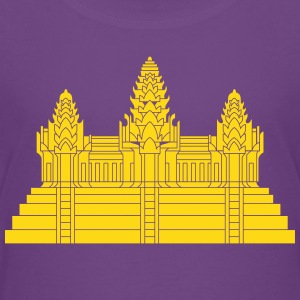 Angkor Wat Ver.2.0 Khmer Temple Shirts - Teenage Premium T-Shirt