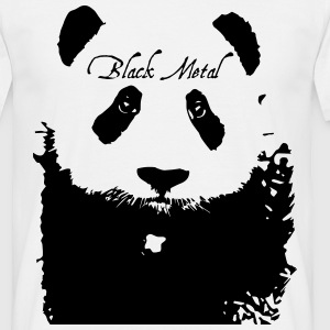 Black Metal Panda T-Shirts - Men's T-Shirt