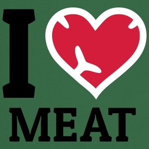 I love Meat  Aprons - Cooking Apron