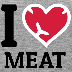 I love Meat Tops - Women's Premium Tank Top