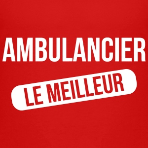 Ambulanceredder / Ambulanceassistent / Ambulancer / læge T-shirts - Børne premium T-shirt