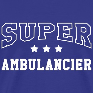 Ambulancier / Ambulance / Hôpital / Médecin T-Shirts - Men's Premium T-Shirt