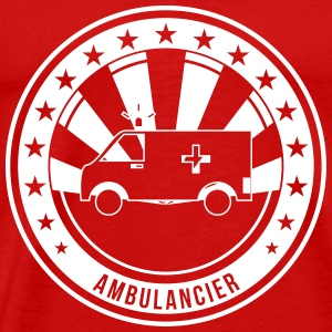 Ambulanceredder / Ambulanceassistent / Ambulancer / læge T-shirts - Herre premium T-shirt
