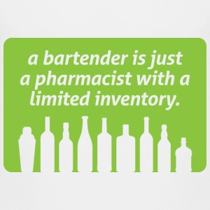 Bartenders are pharmacists with small stock Shirts - Kids' Premium T-Shirt