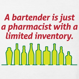 Bartenders are pharmacists with small stock Shirts - Kids' Organic T-shirt