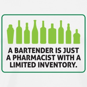 Bartenders are pharmacists with small stock T-Shirts - Men's Premium T-Shirt