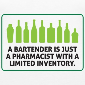 Bartenders are pharmacists with small stock Tops - Women's Premium Tank Top