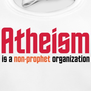Atheism: A non-prophet organization Accessories - Baby Organic Bib