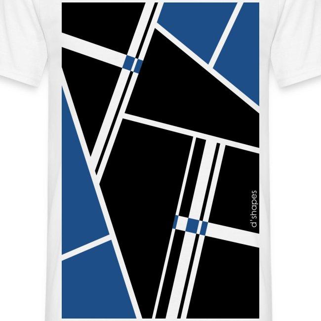 Blocks Blue - Man T-shirt