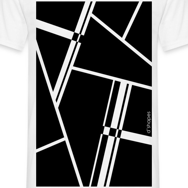 Blocks Black - Man T-shirt