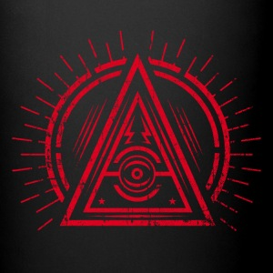 Illuminati - All Seeing Eye - Satan / Black Symbol Kubki i dodatki - Kubek jednokolorowy