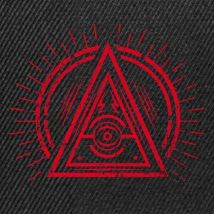 Illuminati - All Seeing Eye - Satan / Black Symbol Petten & Mutsen - Snapback cap