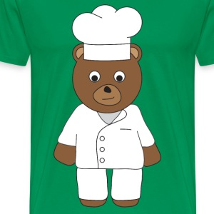 Chef Bear T-Shirts - Men's Premium T-Shirt