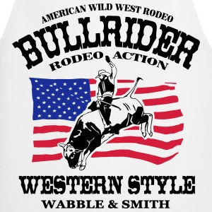 Western Rodeo - Bullrider  Aprons - Cooking Apron